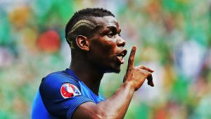Pogba, the count of Montecristo