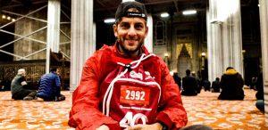 Francesco Tieri, maratoneta dei 2 mondi