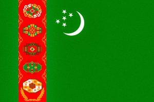 Turkmenistan, la bandiera più dettagliata al mondo