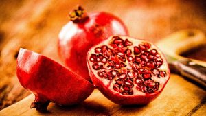 The pomegranate, fruit of Eden