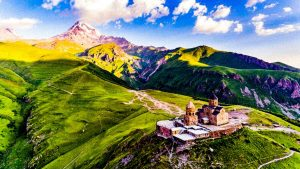 Caucasus, the mountains on the edge of the world