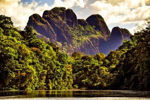 Suriname, centro del mondo