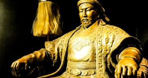 The sense of honor for Genghis Khan