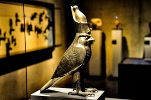 Horus, the first of the Egyptian gods