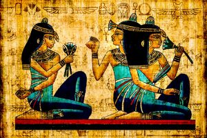 Ancient Egypt and the woman