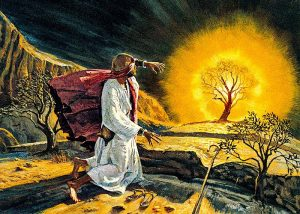 Moses and the call of the Lord