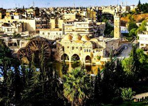 Hama, the fortress