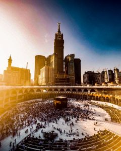 Mecca, the city of God
