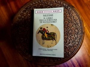 """Alexander's Book of Luck"" by Nizami"