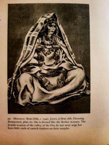 The moroccan Jewish costume: the woman