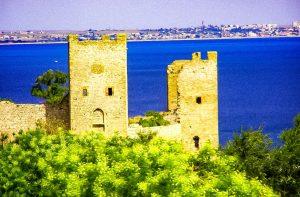 Feodosia, the Ligurian port in the Crimea
